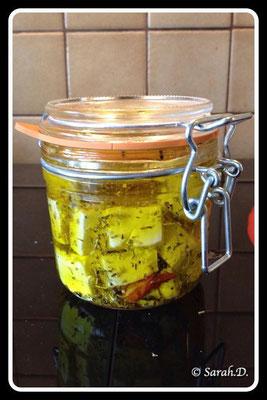 Féta à l'huile d'olive
