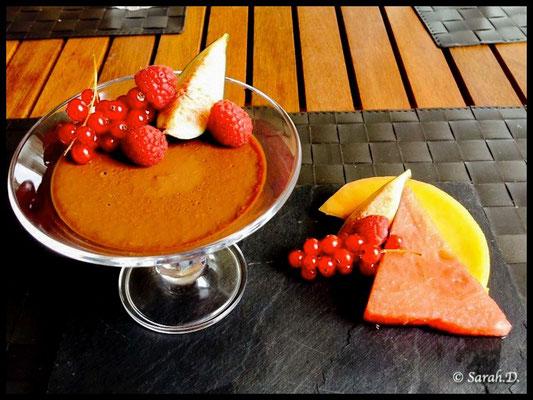 Pana cotta Chocolat/noix de coco
