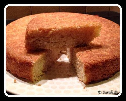 Gâteau de manioc au lait de coco