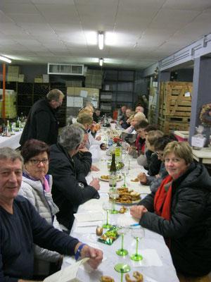 Dégustation des vins d'Alsace avec modération !!