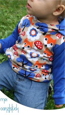 Pocket-Shirt mit Kapuze