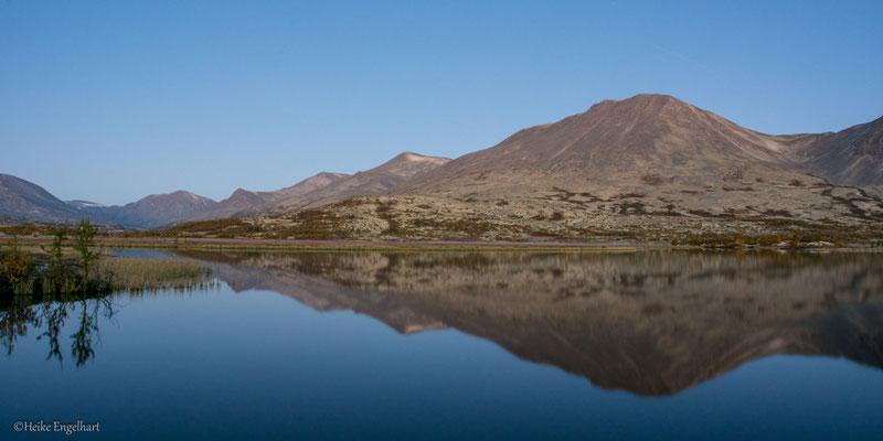 Blaue Stunde, Rondane NP, Norwegen