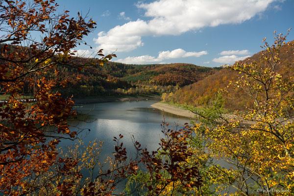 Der Edersee im Herbst
