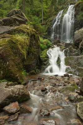 Wasserfall in den Vogesen