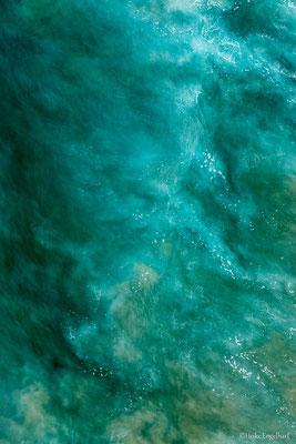Interessante Strukturen finden sich im Wasser.