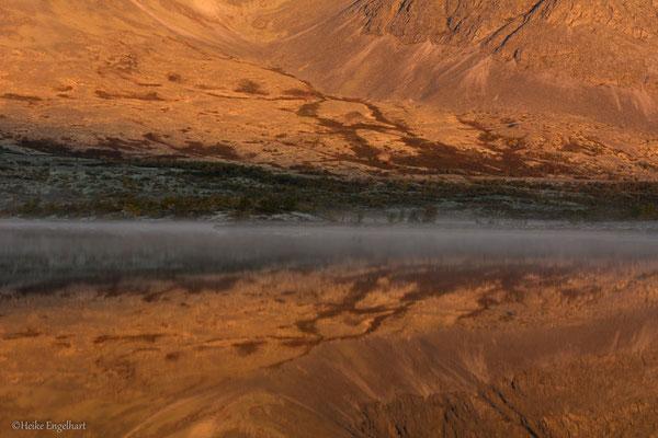 Sonnenaufgang, Rondane NP, Norwegen