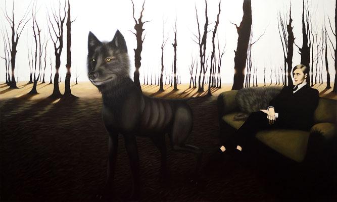 Master 2, 2015, 150/250 cm, oil on canvas