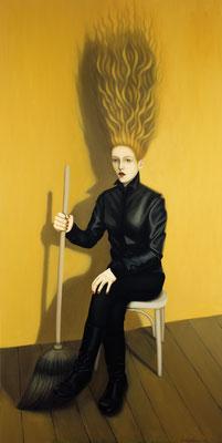 Margarita 2, 2015, 200/100 cm, oil on canvas