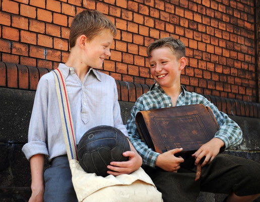 Eric Fritsch aus der E-Jugend und Luca Kluge aus der DSC D-Jugend