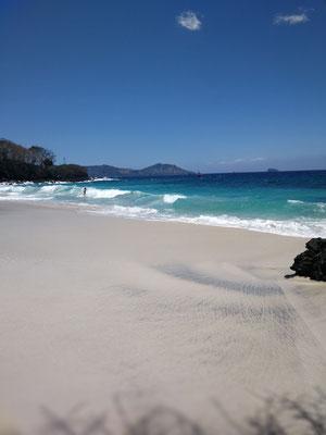 White sand beach - Padang bai