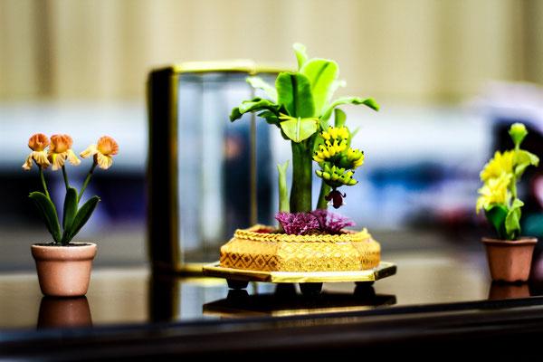 Handmade mini flowers