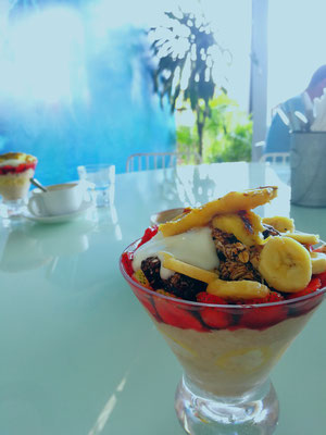 Breakfast in Uluwatu