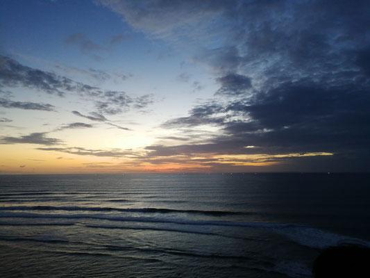 Sunset at Singlefins Beach Club