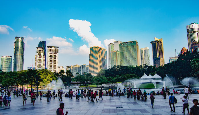 KLCC Park, absolutely worth a visit