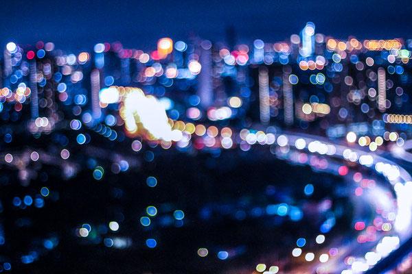 Blurry Cars of Bangkok