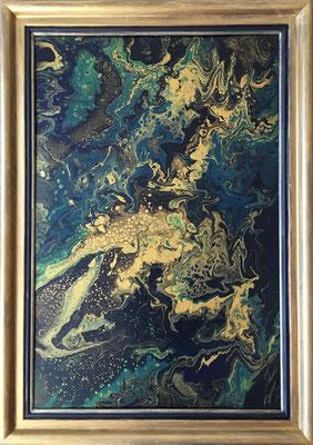 Acryl auf Leinwand, 60 x 90 cm, mit Rahmen