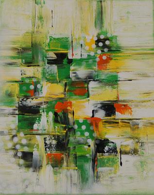 """Heiterkeit"", Acryl auf Leinwand, 40 x 50 cm"