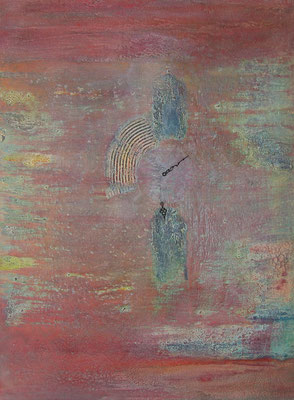 """ Verlorene Zeit "", 60 x 80 cm, Acryl auf Leinwand       (verkauft)"