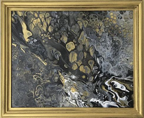 Acryl auf Leinwand, 50 x 40 cm, mit Rahmen