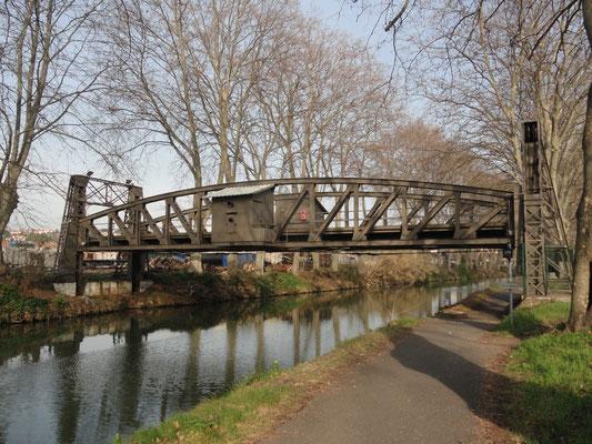 Béziers - Hebebrücke für Eisenbahn zu den Cameron-Werken