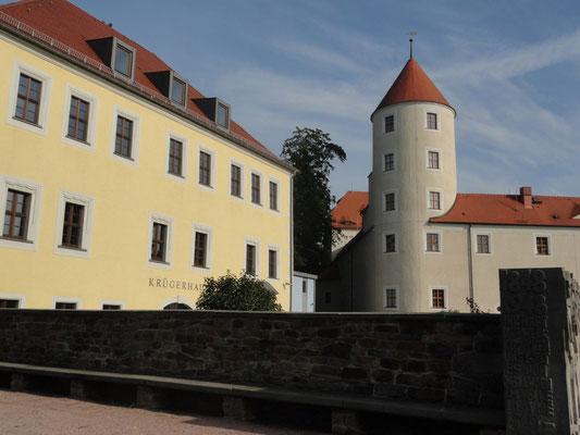 Freiberg - Krügerhaus beim Schloss Freudenstein