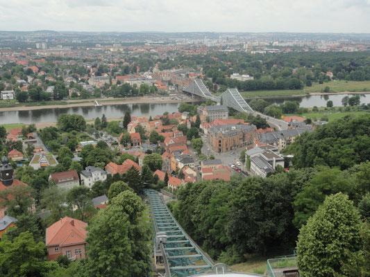 Dresden - Schwebebahn und Blaues Wunder