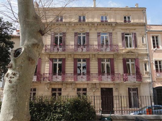 Narbonne - Schönes Haus vis-a-vis Erzbischofspalast