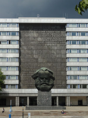 Chemnitz - Karl Marx - Nüschel