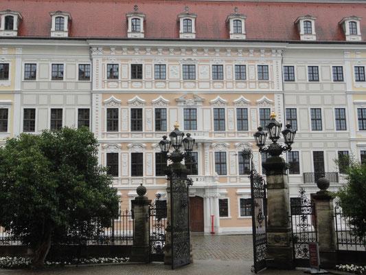 Dresden - Hinter dem Residenzschloss