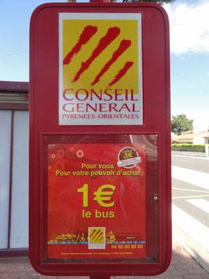 Bus für 1 Euro