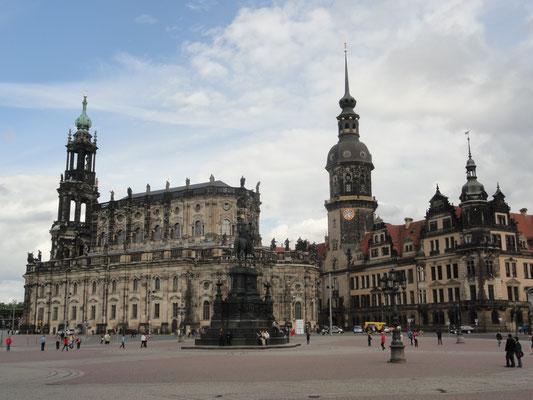 Dresden - Schlossplatz