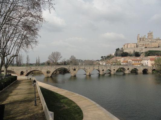 Béziers - Pont Vieux - Via Domitia