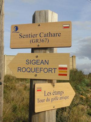 Port-la-Nouvelle - Sentier Cathare GR367