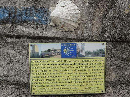Béziers - Jakobsweg nach Romieux
