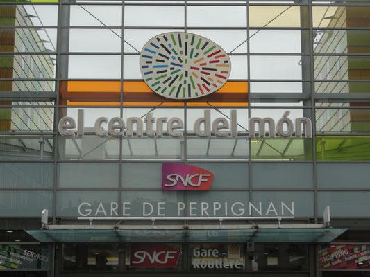 Perpignan - Bahnhof - Zentrum der Welt