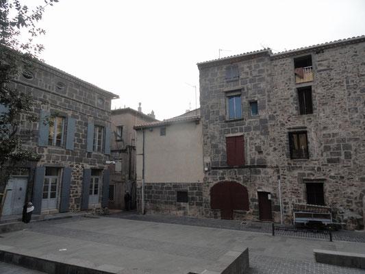 Agde - Platz an der Rue Terrisse