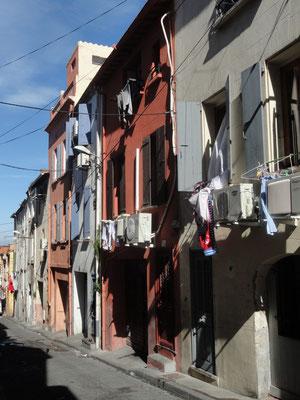 Perpignan - Gasse im Quartier Saint Jacques