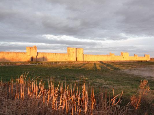 Aigues-Mortes - Stadtmauer Süd