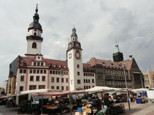 Chemnitz - Rathausensemble