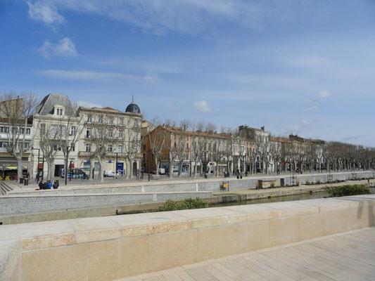 Narbonne - Allee am Cours de la République