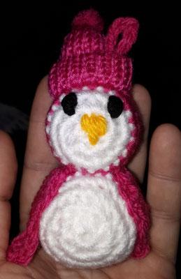 Amigurumi Wintermotiv Pinguin