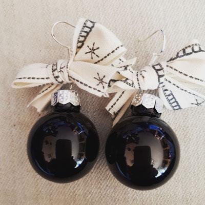 Weihnachtskugel Ohrringe