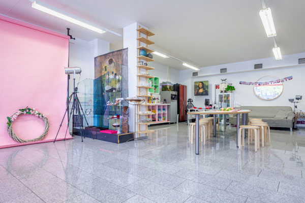 Partyraum ELA EIS - Eventlokation in Düsseldorf! Workshop, Perlenladen