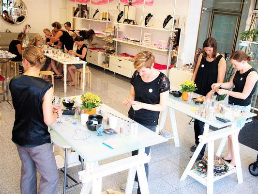 Workshop Partyraum ELA EIS Düsseldorf Lokation