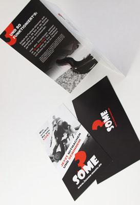 Flyer mit Perforation für Antwortkarte