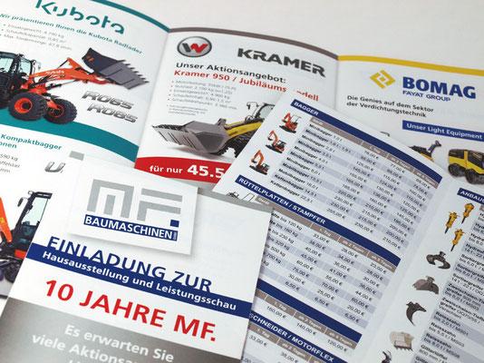 Flyer & Preisliste