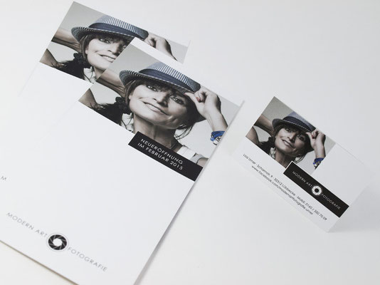 Flyer & Visitenkarte