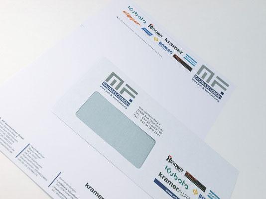 Briefbogen & Briefumschlag