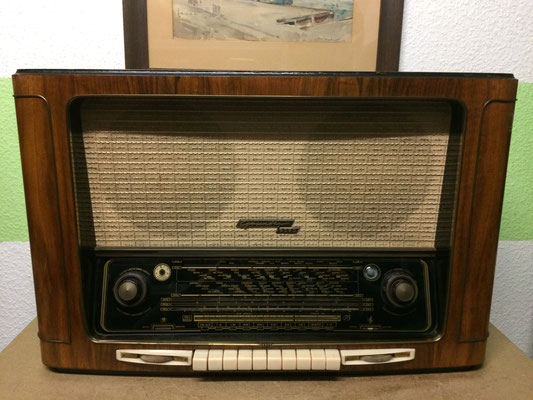 majestic german tube radio - legendary GRUNDIG 5050