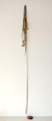 9,98 m, 2009, Massband, Nagel, 20 x 212 cm